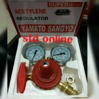 regulator acetylene yamato regulator assy acetiline