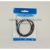 Vention [BAG 0.5M] kabel Audio Aux 3.5mm Male to Male Fabric Braided