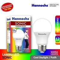 Hannochs Sonic 3 Watt Bohlam Lampu Cahaya Putih Daylight LED Bulb 3W