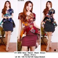 Dress Batik Modern New Arrival / Batik Premium Murah Berkualitas