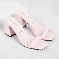 Guzzini YN 22 Pink Salem - Sandal Block Heels Casual