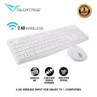 Alcatroz Wireless Combo Keyboard Mouse Xplorer Air 6600