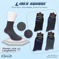 Kaos Kaki SOREX 5102-9 - Mens Basic Socks - Kaos Kaki Formal M5102-9