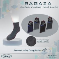 Kaos Kaki SOREX 5102-1 - Mens Basic Socks - Kaos Kaki Formal M5102-1