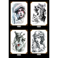 Tattoo/Tattoo temporary/Tattoo Temporer/Tatto 21x15cm HB B096100