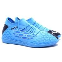 Sepatu Futsal Puma Future 5.3 Netfit IT - Blue/Nrgy Blue