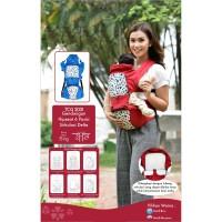 Gendongan Bayi Depan Hipseat 6 Posisi Delta Cintaka TCG 2031