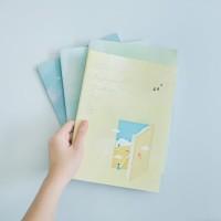 Daydream Girl Daily Planner B5 / Panmomo/ Buku Tulis B5 / Buku Catatan
