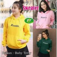 Sweater Hoodie Korean / OuterWear Cewek / Wanita Dewasa - Humble