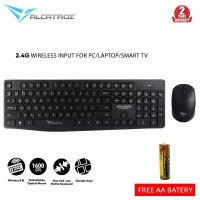 Keyboard Alcatroz Wireless Combo Keyboard Mouse Xplorer Air 6600