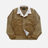 OOTD Corduroy Sherpa Jacket | outerwear pria | Jaket Pria musim dingin