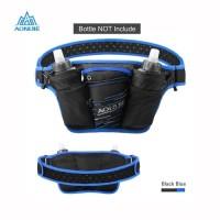 Aonijie Waist Bag W959 - Tas Pinggang Olahraga Lari Bike - BLACK BLUE