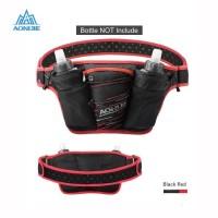 Aonijie Waist Bag W959 - Tas Pinggang Olahraga Lari Bike - BLACK RED