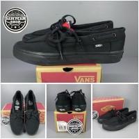 Sepatu Vans Zapato Japato Full Black Original Premium Import
