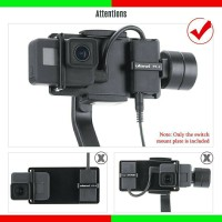 Ulanzi pt-6 Plat vsuo Plate Adapter Mic GoPro Hero 7 6 5 DJI Moza