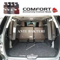 Karpet Comfort Premium Innova Rush Fortuner Pajero Xpander Full Bagasi
