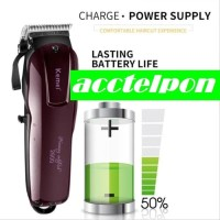 Alat Cukur Rambut Charger Hair Clipper Rechargeable KEMEI KM 2600
