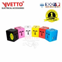 Vetto Universal Travel Adaptor V8995