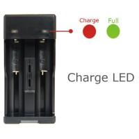 Charger Baterai Universal AAA AA 18650 Micro USB LED Indikator GTF 012