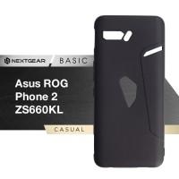 Asus ROG Phone 2 II ZS660KL - Nextgear Basic Premium Soft Case Cover - Hitam