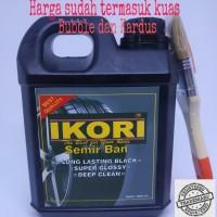Ikori Semir Ban/Pengkilap Ban/Penghitam Ban Mobil Motor Isi 1 liter