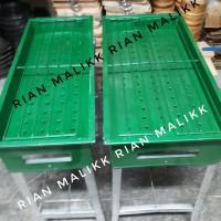 Panggangan Arang/ Bakaran sate ikan ayam dll bahan plat tebel uk besar