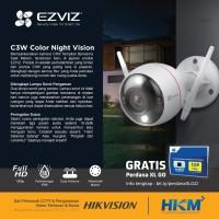 Ezviz C3W Husky Air 1080p Color Night Wireless CCTV IP Camera Spycam
