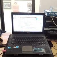 Laptop Asus K42JC Core i5 Nvidia G Force 1 GB