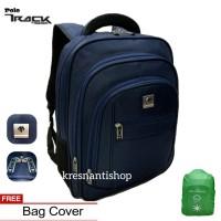 tas ransel laptop pria polo track tracker promo