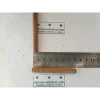 Dowel Kayu Bulat Ulir 8x70mm Pasak Paku Stik Joining Furniture /Pcs