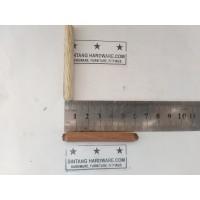 Dowel Kayu Bulat Ulir 8x60mm Pasak Paku Stik Kayu Kursi Lemari /Pcs