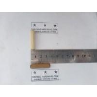 Dowel Kayu Bulat Ulir 8x35mm Pasak Paku Kayu Meja Kursi Lemari /Pcs