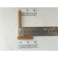 Dowel Kayu Bulat Ulir 8x40mm Pasak Paku meja Kayu Kursi Lemari /Pcs