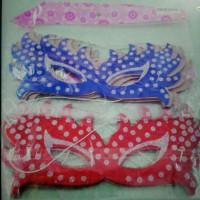Topeng Kertas Glitter