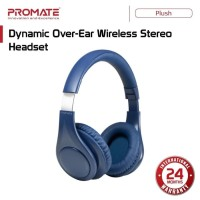 Promate Wireless Bluetooth Dynamic Stereo Headset - Over Ear Plush