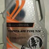 Oli matic ATF T4 untuk Toyota Camry,Harrier,Alphard,Innova,Fortuner