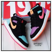 AIR JORDAN 1 Mid Multicandy Preschool Kids Sneaker Anak Original