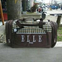 tas travel bag Elle tas mudik tas olahraga pria dan wanita murah