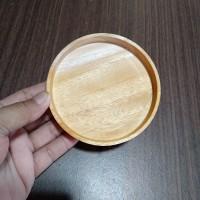 Tatakan Gelas Kayu / Tatakan Cangkir / Alas Gelas Kayu / Coaster Set