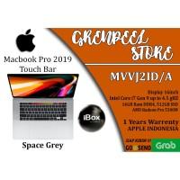 MacBook Pro 2019 MVVJ2 16 inch Touch Bar Core i7 16GB/512GB Resmi iBox