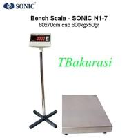 Timbangan Duduk Serbaguna, Timbangan Laundry, Sonic N1-7 Cap 600Kg