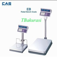 timbangan duduk/timbangan barang/DLL/ merk CAS EBI 150kg x 10gr