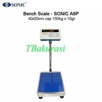 Timbangan Duduk, Bench Scale Sonic A9P Cap150kg