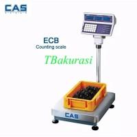 Timbangan Duduk/ counting Bench Scale - CAS ECB uk 30x40cm cap 75kg