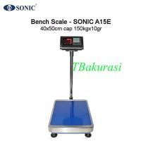 Timbangan Duduk Sonic Bench Scale Type A15E cap 150kg