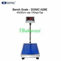 timbangan duduk/timbangan barang/DLL/ SONIC A28E 150kg x10gr