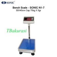 Timbangan Duduk Serbaguna, Timbangan Laundry, Sonic N1-7 Cap 100Kg