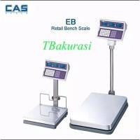 Bench Scale - CAS EBI Ukuran 50cm x 60cm kapasitas 300kg x 20gr