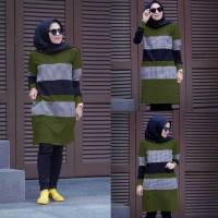 Baju Atasan Blouse Wanita Terbaru Zolaqu Tunik Fashion Muslim Termurah