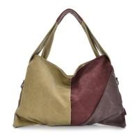 Tas Selempang Wanita Hand Bag Korean Style Bahan Kanvas Premium